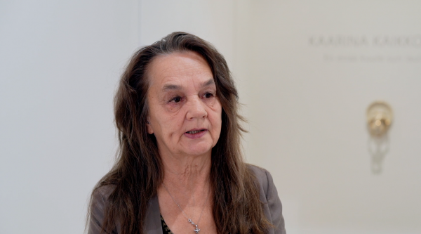 Kaarina Kaikkonen talks about her current exhibition
