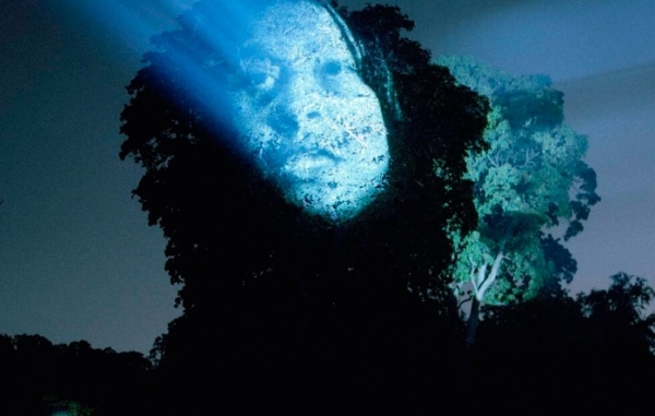Tony Oursler at the Foundation Cartier