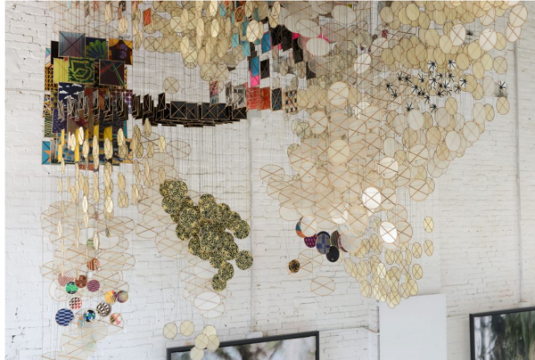 Jacob Hashimoto at the Studio la Città at GAD – Giudecca Art District during Venice Biennale