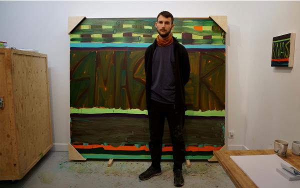 In the studio: Johannes Hägglund