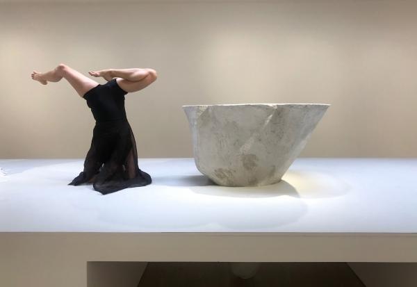 Performance by Virpi Pahkinen and presentation by Charlotte Gyllenhammar