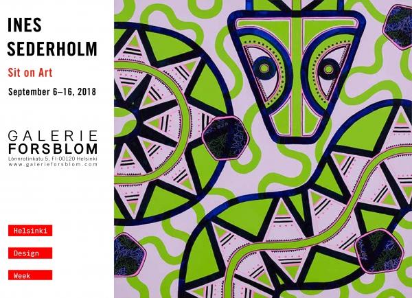 Ines Sederholm – Sit on Art