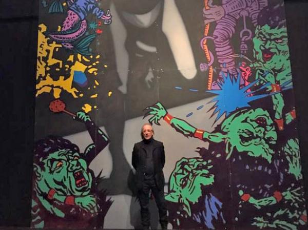 Jarmo Mäkilä and Toni R. Toivonen participate in a group exhibition in Vantaa Art Museum Artsi