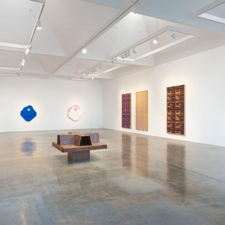Mika Tajima: At Kayne Griffin Corcoran, artists place the architecture of art in the frame