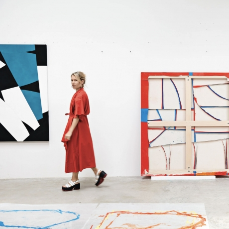 Brooklyn's Sarah Crowner Is Reinvigorating American Painting