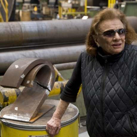 At 96, the Sculptor Beverly Pepper Is Only Now Getting Credit for Using Cor-Ten Steel Way Before Richard Serra