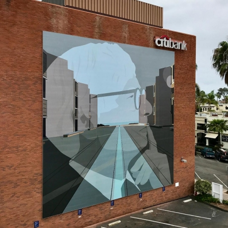 Kota Ezawa in Murals of La Jolla