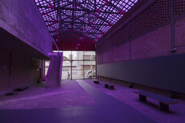 Lucia Koch, installation at SESC Pompeia
