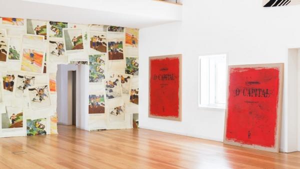 João Louro at Atelier Museu Júlio Pomar