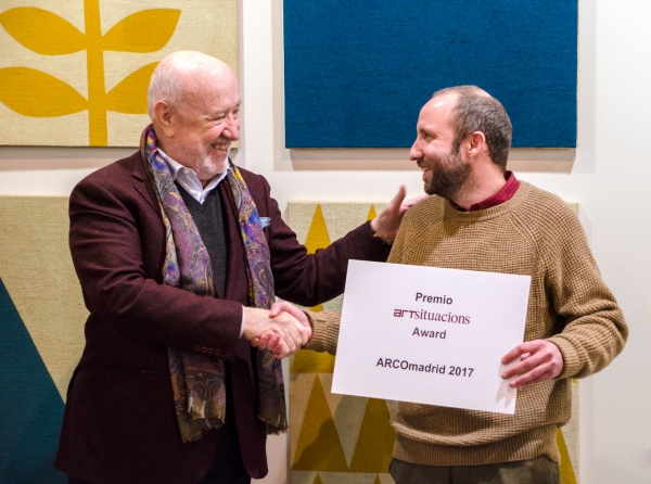 Antonio Ballester Moreno Receives Art Situacions 2017 Award