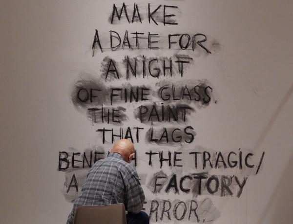 Jim Dine as Poet