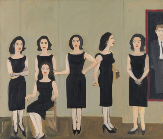 Alex Katz at Museum Brandhorst