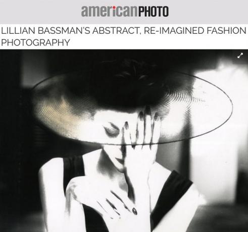 Lillian Bassman in American Photo