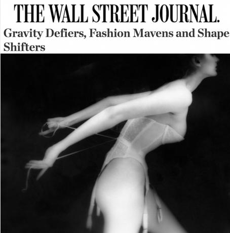 Lillian Bassman in The Wall Street Journal