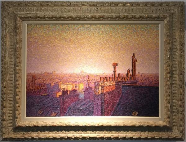 Painting in the Albertina Museum .