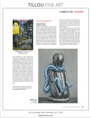 Totem & Taboo on Le Gazette Drouot