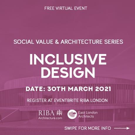 RIBA London: Inclusive Design