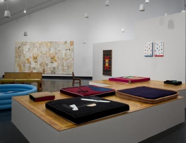 Chris Johanson at the Tang Museum