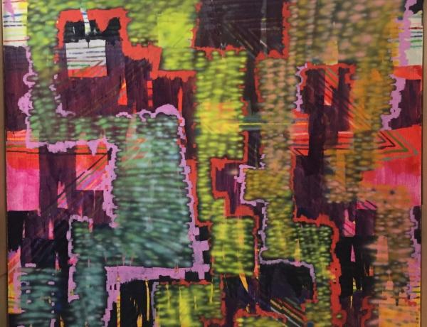 Keltie Ferris at the Addison Gallery, Philips Academy