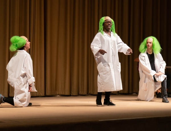 Watch documentation of Pope.L's The Escape at The Art Institute of Chicago until January 29