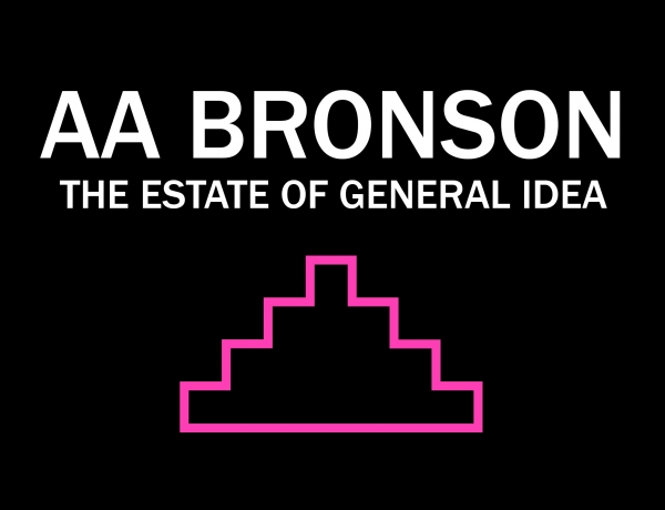 Toronto book launch and signing with AA Bronson of The Estate of General Idea