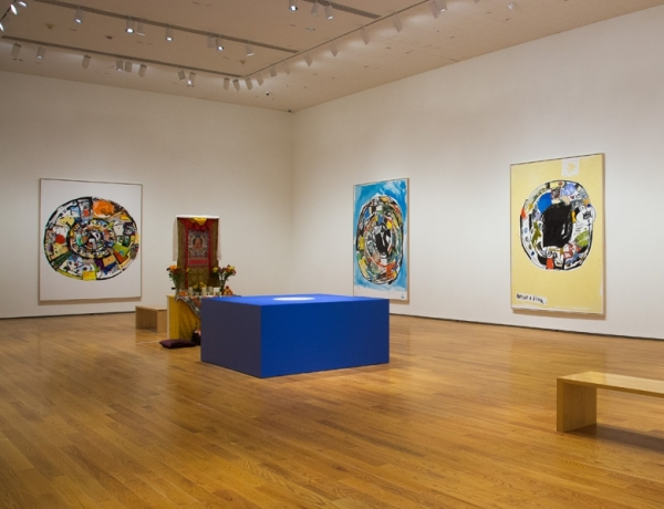 Eddie Martinez at The Davis Museum at Wellesley College