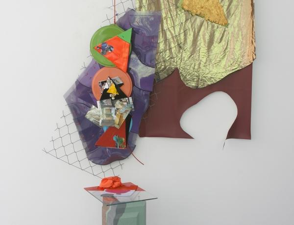 Jessica Stockholder at Fine Arts Center Gallery at University of Arkansas