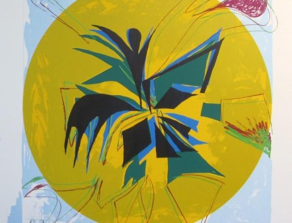 Jessica Stockholder at Gary Lichtenstein Editions at Mana Contemporary