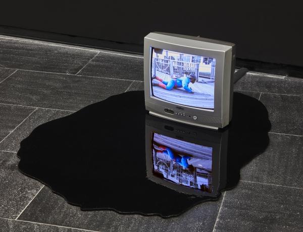 Martha Rosler and Pope.L at Centro de Arte Dos de Mayo, Madrid