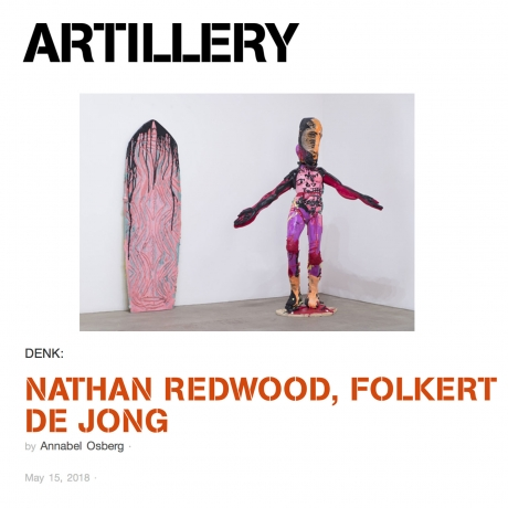 Artillery Magazine: NATHAN REDWOOD, FOLKERT DE JONG