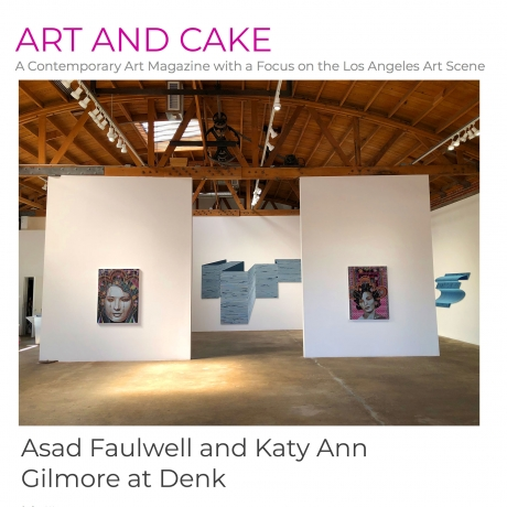 Asad Faulwell and Katy Ann Gilmore at Denk
