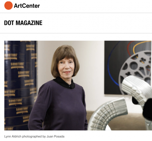 Romantic and Realist: Lynn Aldrich - DOT Magazine, Fall 2019