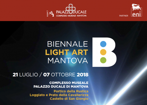 David DiMichele upcoming exhibition--Biennale Light Art Mantova