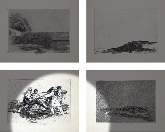 EYEWITNESS: FRANCISCO GOYA & FARIDEH LASHAI