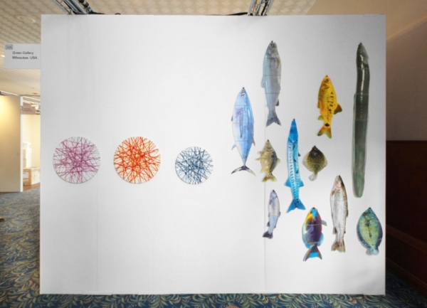 NADA booth images on Contemporary Art Daily