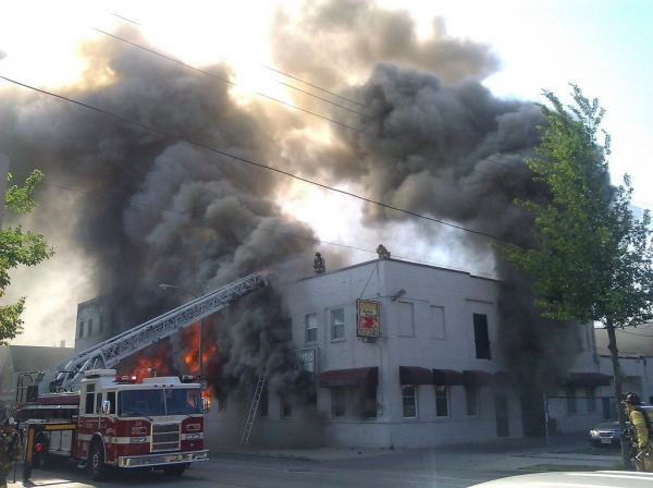 Fire at The Green Gallery West & Storage