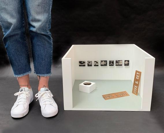 A New International Fair Peddles Pocket-Size Art
