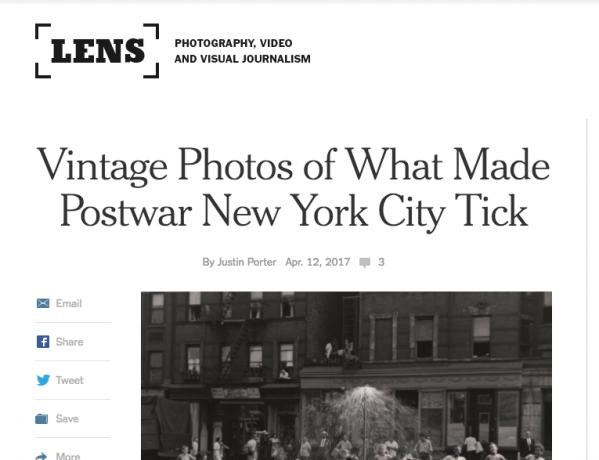 New York Times Lens Blog