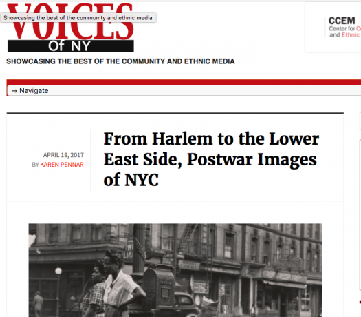 Voices of New York