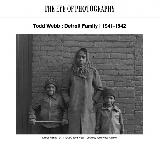 Detroit Family - L'Oeil de la Photographie