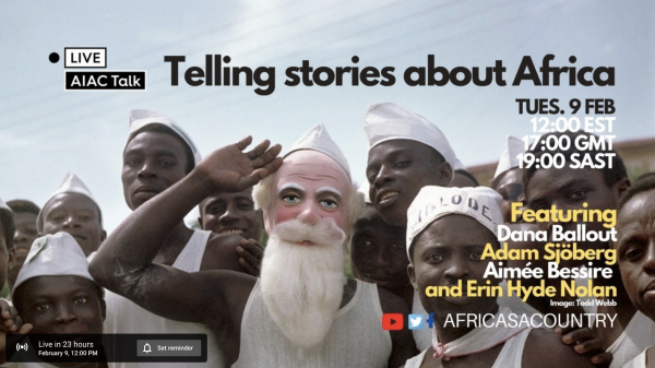 AIAC TALK - Interview with Todd Webb in Africa authors