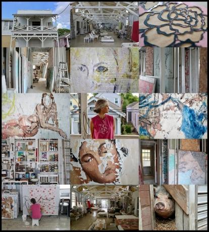 Portrait of a Creative Space: The Studio of Nicole Charbonnet