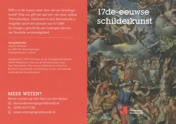 Vereniging Rembrandt TEFAF TIPS