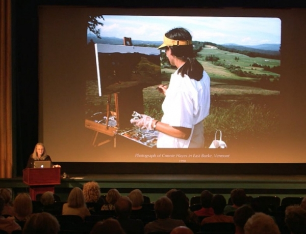 Connie Hayes Artist Talk Now Online