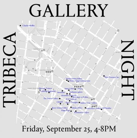 Andrew Kreps Gallery   Tribeca Gallery Night
