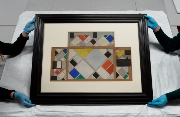 Only Surviving Model by Theo van Doesburg Acquired by Het Nieuwe Instituut