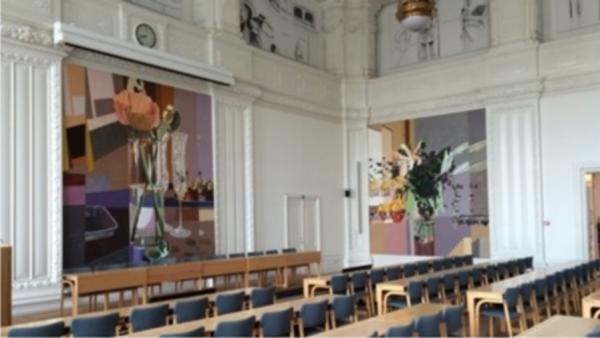 Kunstkritiker: Ny kunst giver Landstingssalen karakter