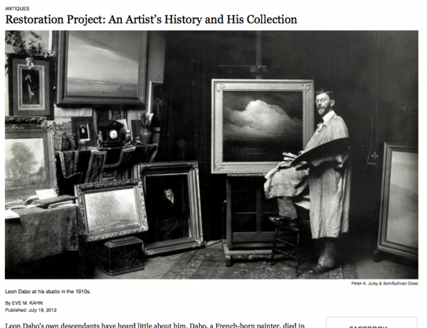 Restoration Project: An Artist's History and his Collection