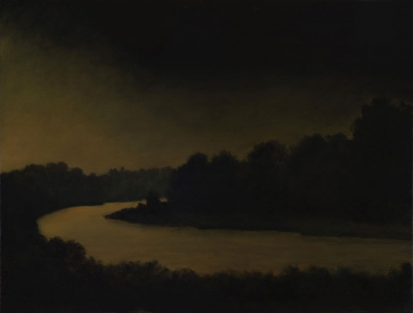 CHRIS PETERS , Night River, 2018