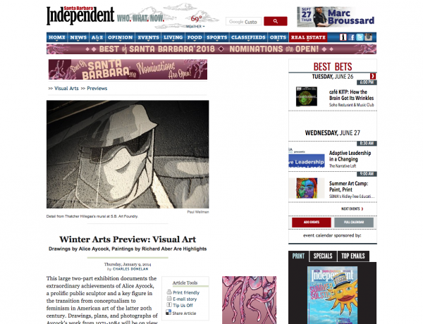 Winter Arts Preview: Visual Art